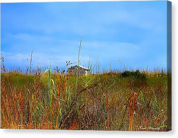 Panama City Beach Canvas Print - Club House by Debra Forand