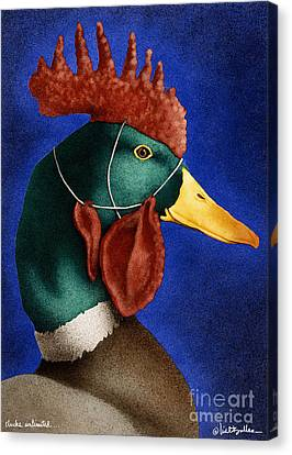 Clucks Unlimited... Canvas Print by Will Bullas