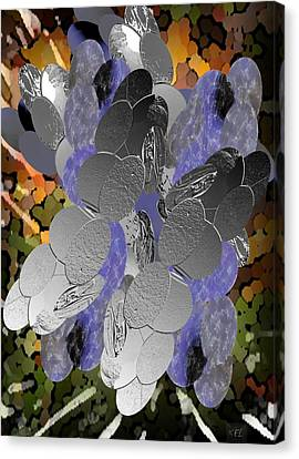 Cluster Canvas Print by Kelly McManus