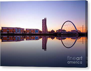 Clyde Arc  Canvas Print by John Farnan