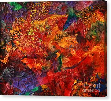 Cme Explosion Canvas Print