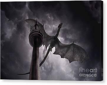 Cn Dragon Canvas Print by Tom Straub