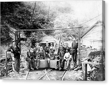 Coal And Coke Mining Canvas Print by Library Of Congress