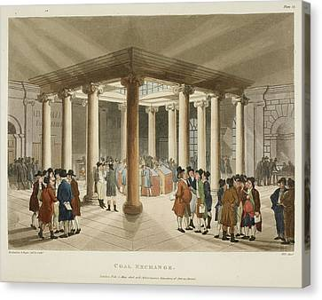 Coal Exchange Canvas Print by British Library