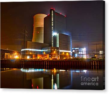 Coal Fired Powerhouse Canvas Print