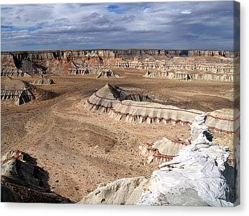 Coal Mine Mesa 11 Canvas Print by Jeff Brunton