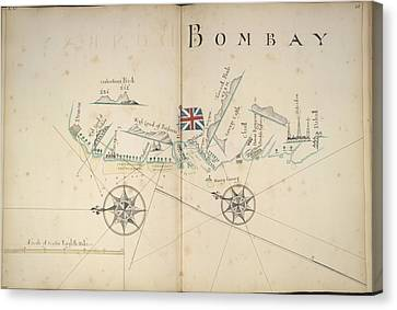 Coast About Bombay Canvas Print by British Library