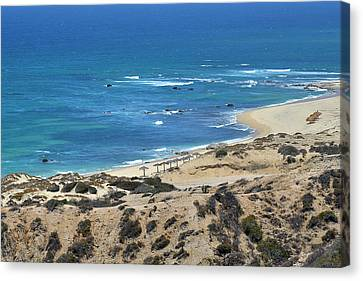 Canvas Print featuring the photograph Coast Baja California by Christine Till