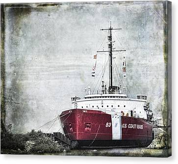 Coast Guard Canvas Print by Evie Carrier