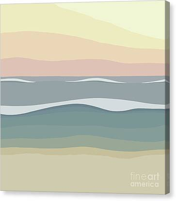 Coast Canvas Print by Henry Manning