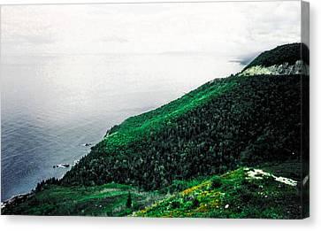 Coast Of Nova Scotia Canvas Print by Christy Usilton