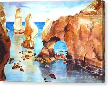 Coast Of Portugal Canvas Print