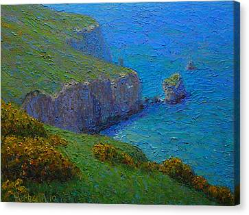 Coast Tunnel Beach Canvas Print