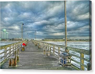 Coastal Blankets Canvas Print