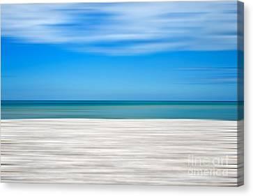 Coastal Horizon 10 Canvas Print