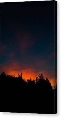 Coastal Mountain Sunrise Vi Canvas Print