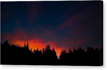 Coastal Mountain Sunrise Vii Canvas Print
