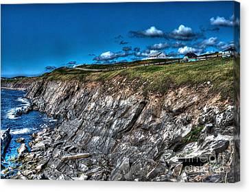 Canvas Print featuring the photograph Coastal Nova Scotia by Joe  Ng