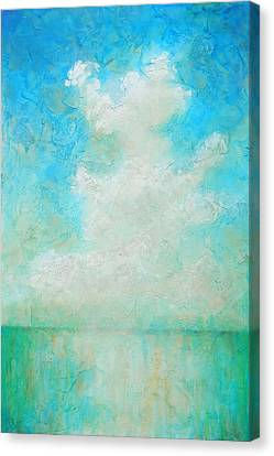 Turquois Water Canvas Print - Coastal by Pam Talley