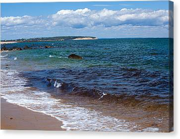 Coastal Pleasure Canvas Print by Karol Livote