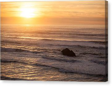 Coastal Rhythm Canvas Print by Mike Reid