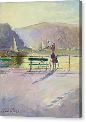 Coastal Rider Canvas Print