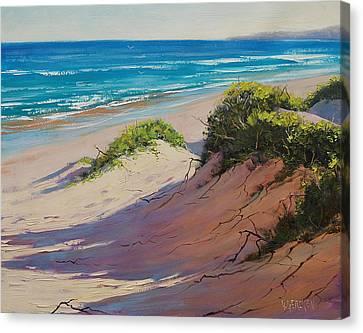Coastal Sand Canvas Print by Graham Gercken