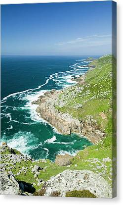 Coastal Scenery Near Zennor Canvas Print