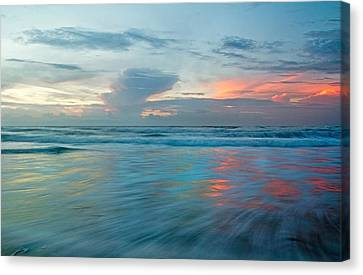Coastal Shift Canvas Print by Betsy Knapp