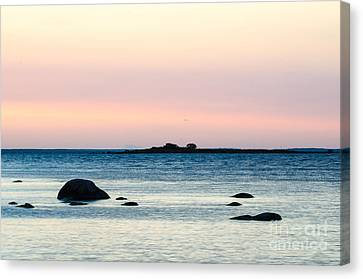 Coastal Twilight View Canvas Print