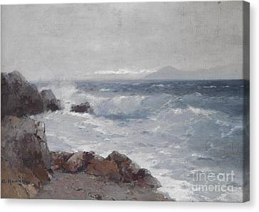 Coastal View Canvas Print by Celestial Images