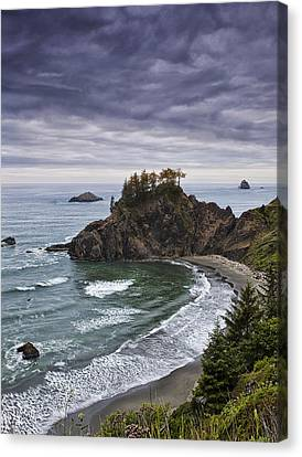 Coastal Views Canvas Print by Andrew Soundarajan