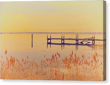 Coastal Winter Canvas Print