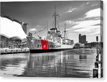 Coastguard Cutter Canvas Print