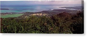 Coastline, Mauritius Island, Mauritius Canvas Print by Panoramic Images