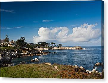 Coastline, Monterey Bay, Monterey Canvas Print by Panoramic Images