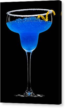 Cobalt Cocktail Canvas Print