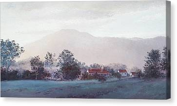 Cobargo At Dusk Canvas Print by Jan Matson
