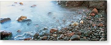 Roca Canvas Print - Cobblestones On The Beach, Las Rocas by Panoramic Images