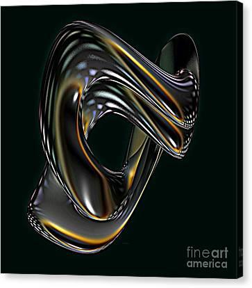 Yellow Cobra Canvas Print - Cobra by Greg Moores