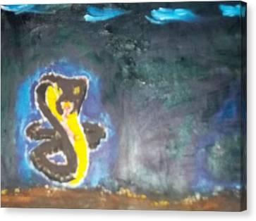 Cobra Oil Painting Canvas Print by William Sahir House
