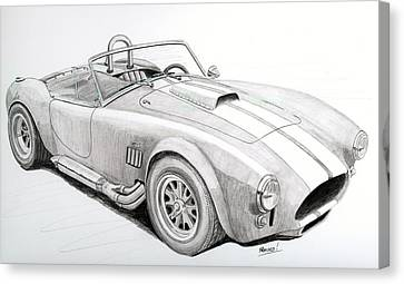 Ac Ford Cobra With 427  Canvas Print