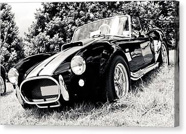 Cobra Sports Car Canvas Print by Phil 'motography' Clark
