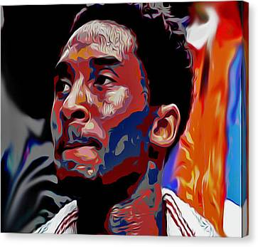 Kobe Canvas Print by Oscar Lester