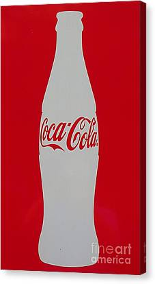 Coca Cola Graphic Bottle Photo. Canvas Print