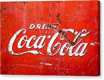 Coca-cola Sign Canvas Print by Jill Reger
