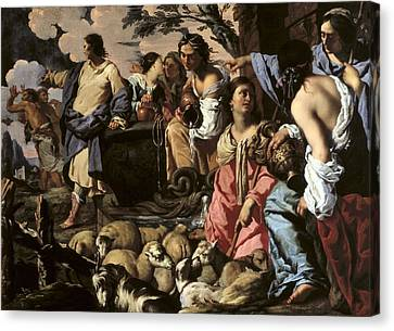 The Sacred Feminine Canvas Print - Coccapani, Sigismondo 1583-1643 by Everett