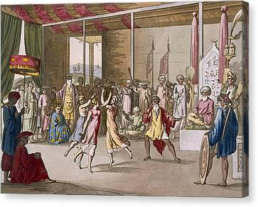Cochin Chinese Drama, From Costume Canvas Print
