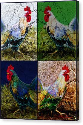 Cock 2 Canvas Print