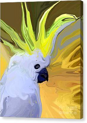 Cockatoo Canvas Print by Chris Butler